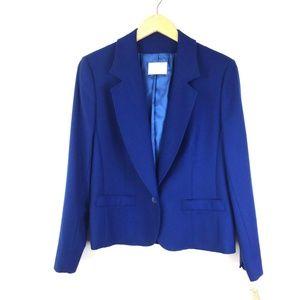 Pendleton virgin wool blue blazer NWT VTG Size 12